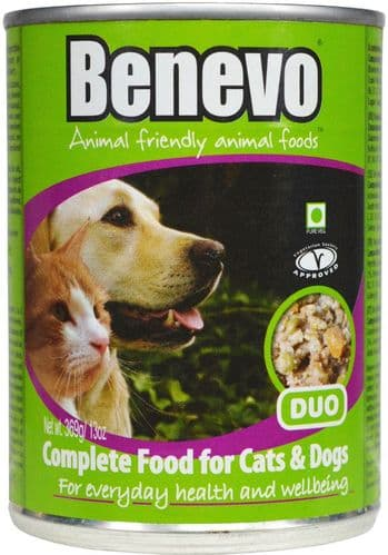 BENEVO Duo Cat & Dog Food